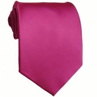Fuchsia Solid Tie Regular
