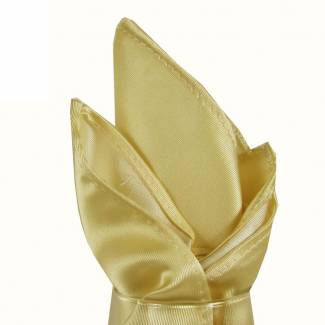 Cream Pocket Square