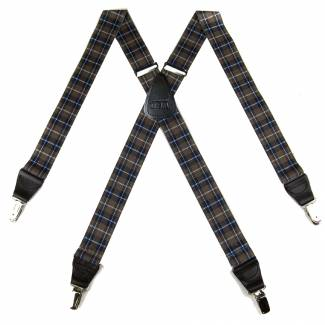 Plaid Suspenders 1.50 inch Made in U.S.A