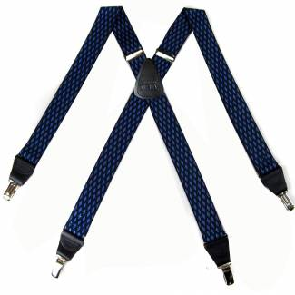 Diamond Suspenders 1.50 inch Made in U.S.A