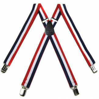 Clip Suspenders 1.50 inch Wide