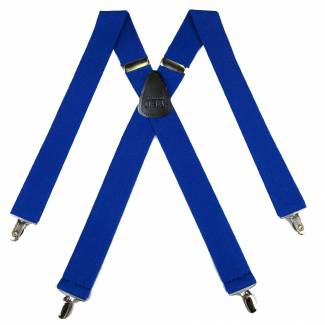 Solid Suspenders 1.50 inch Made in U.S.A