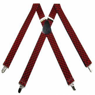 Clip Suspenders 1.50 inch Made in U.S.A