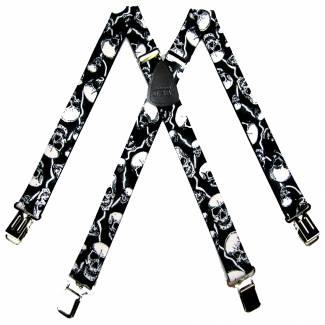Clip Suspenders 1.50 inch Made in U.S.A