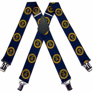 Air force Suspenders 2.00 inch Made in U.S.A