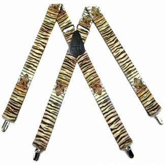 Tiger Suspenders 1.50 inch Made in U.S.A