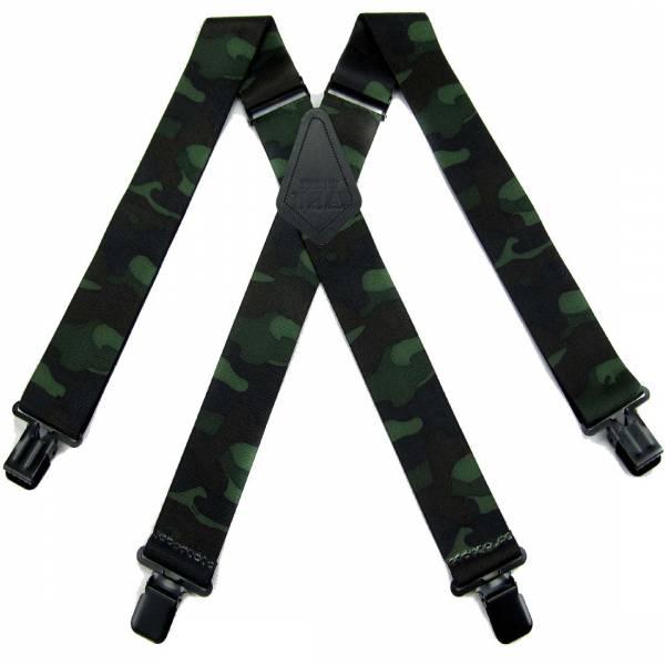 Camo Suspenders 2.00 inch Made in U.S.A