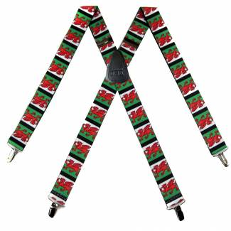 Welsh Suspenders 1.50 inch Made in U.S.A