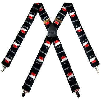 German Suspenders 1.50 inch Made in U.S.A