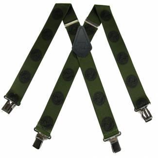 Marine Suspenders 2.00 inch Made in U.S.A