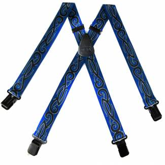 Tribal Suspenders 1.50 inch Made in U.S.A