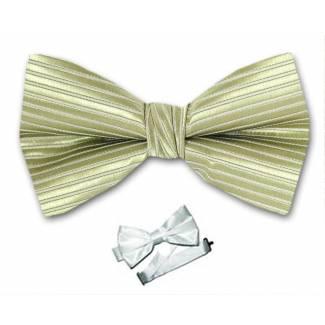 Olive Pre Tied Bow Tie