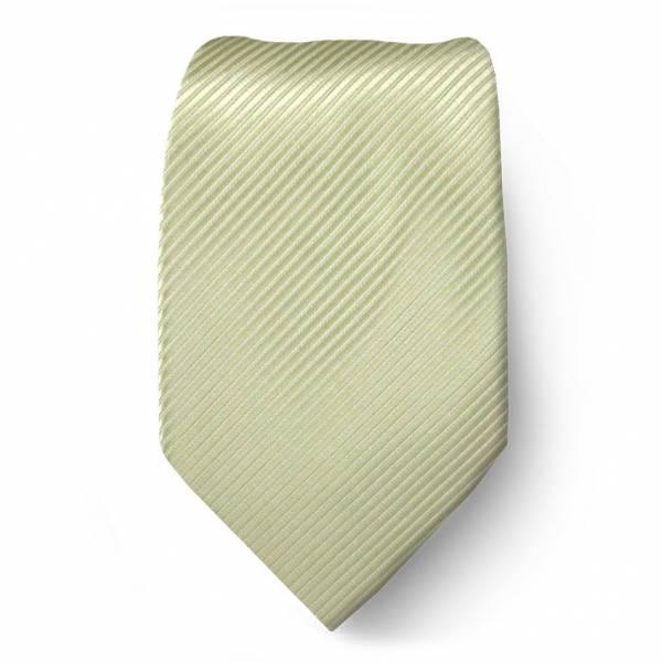 Olive Solid Tie Regular