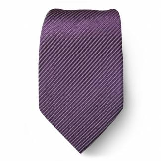 Purple Solid Tie Regular