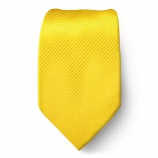 Gold Solid Tie Regular