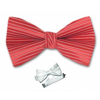 Red Pre Tied Bow Tie