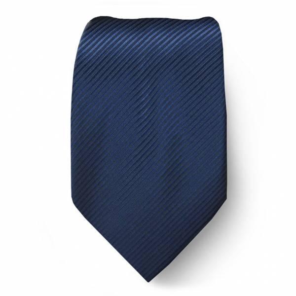 Navy Solid Tie Regular