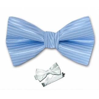 Blue Pre Tied Bow Tie