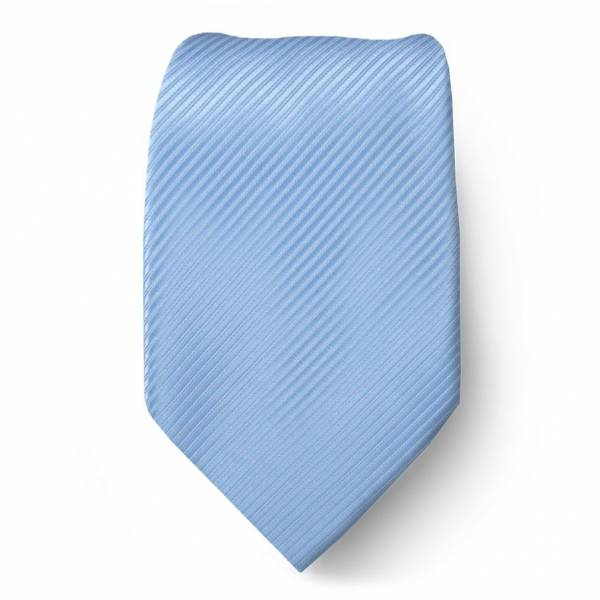 Blue Solid Tie Regular