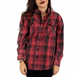 Vintage Flannel Shirt Chest: 24 inches Flannel Shirt