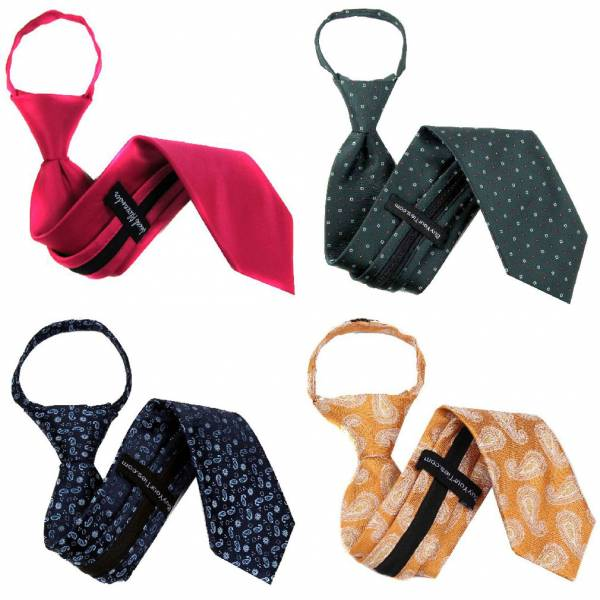 Zipper Tie Prepack Assorted Packs