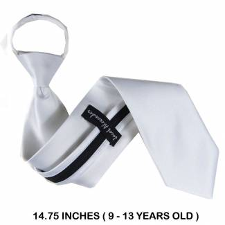 Boys (9 13 yr) Zipper Tie Zipper Tie 14 inch