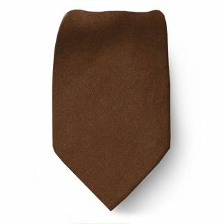 Rust Silk Boys Tie Ties