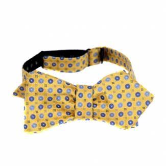 Self Tie Diamond Tip Bow Tie Bow Ties - Self Tie