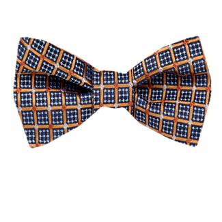 Silk Self Tie Bow Tie Bow Ties - Self Tie