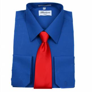 Mens Shirt Royal Mens Shirt & Tie