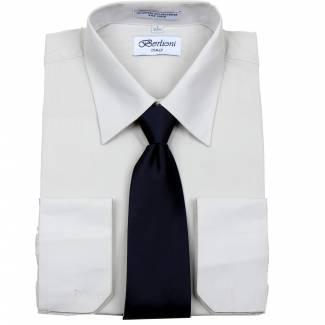 Mens Shirt Silver Mens Shirt & Tie
