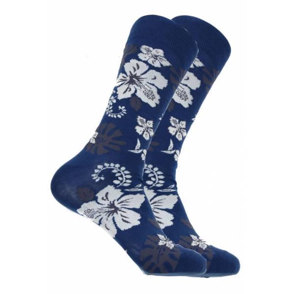Hawaiian Flower Sock Socks