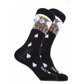 King of Spades Sock Socks