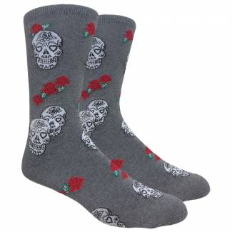 Skulls and Roses Sock Socks