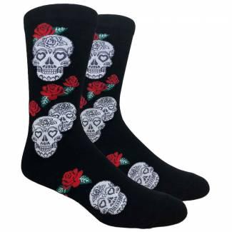 Skulls and Roses Sock Socks