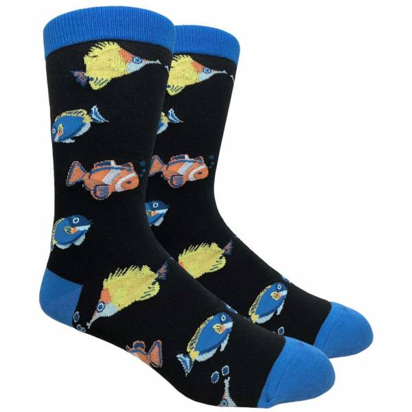 Marine Fish Sock Socks