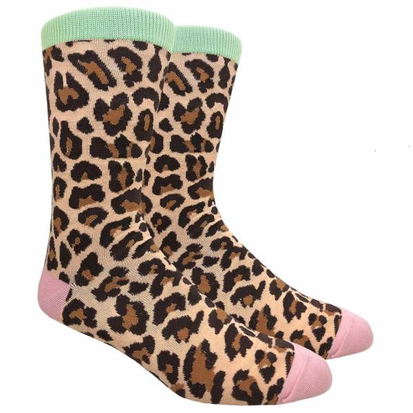 Leopard Print Sock Socks