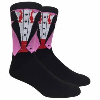 Tuxedo and Bow Tie Sock Socks