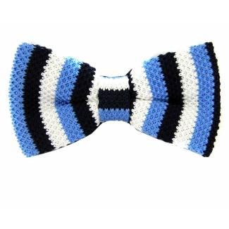 Pre Tied Knit Bow Tie