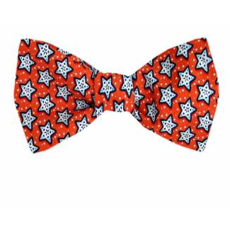 Starfish Silk Self Tie Bow Tie Self Tie Novelty