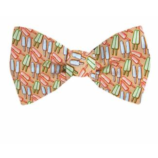 Popsicle Silk Bow Tie