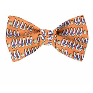 Sandals Silk Bow Tie