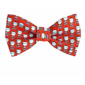 BBQ Silk Bow Tie