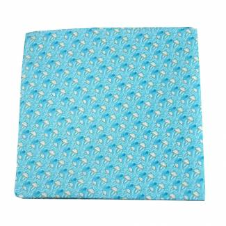 Jellyfish Silk Pocket Square