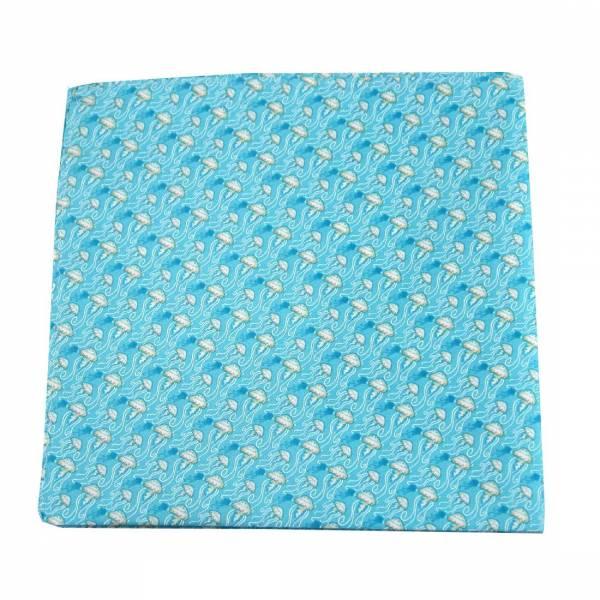 Jellyfish Silk Pocket Square