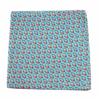 Crabs & Snail Silk Pocket Square