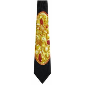 Pizza Tie Food Ties