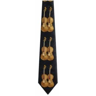 Violin Tie Music Ties
