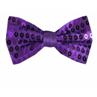 Sequins Bow Tie