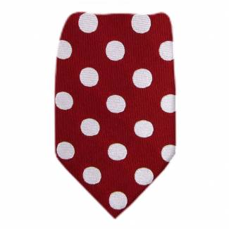 Boys Tie Red Ties